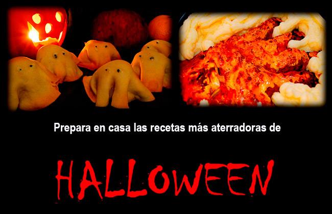 Recetas para preparar en Halloween