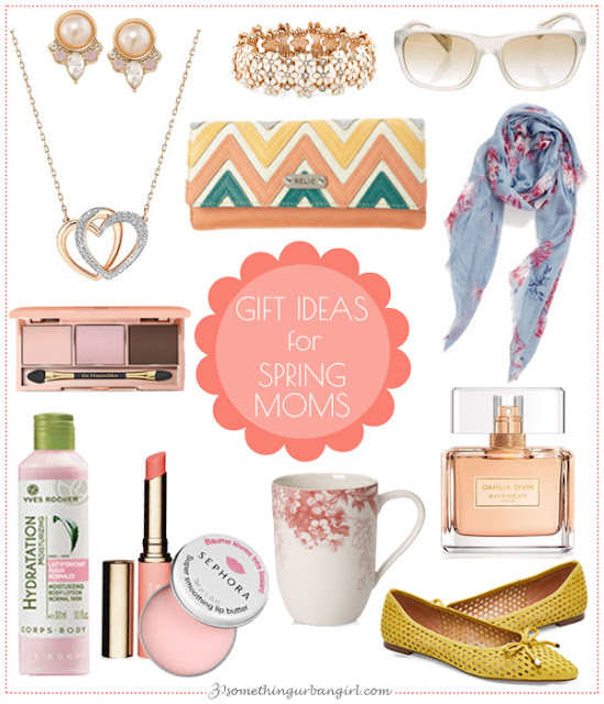 Pretty Mother's Day Gift Ideas for Spring Moms by 30somethingurbangirl.com