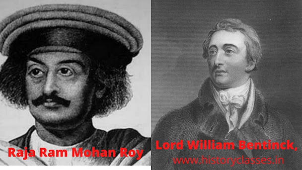 raja ram mohan roy and lord william benick