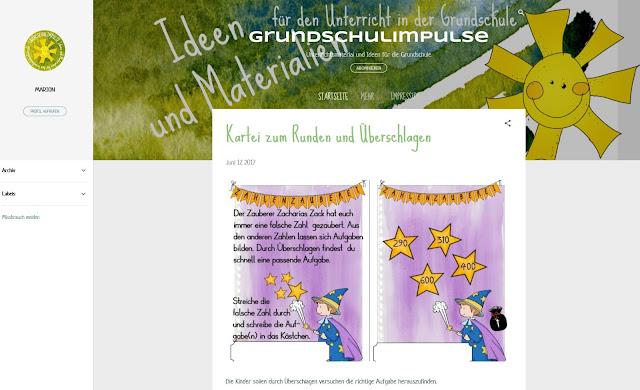 http://grundschulimpulse.blogspot.de/