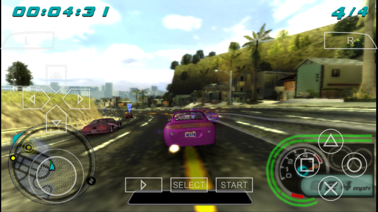 Midnight Club Los Angeles Remix PSP ISO Free Download - Free Download PSP PPSSPP Games, Android