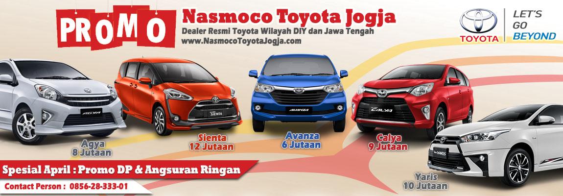 Promo Akhir Tahun Toyota Nasmoco Jogja DP dan Servis Murah