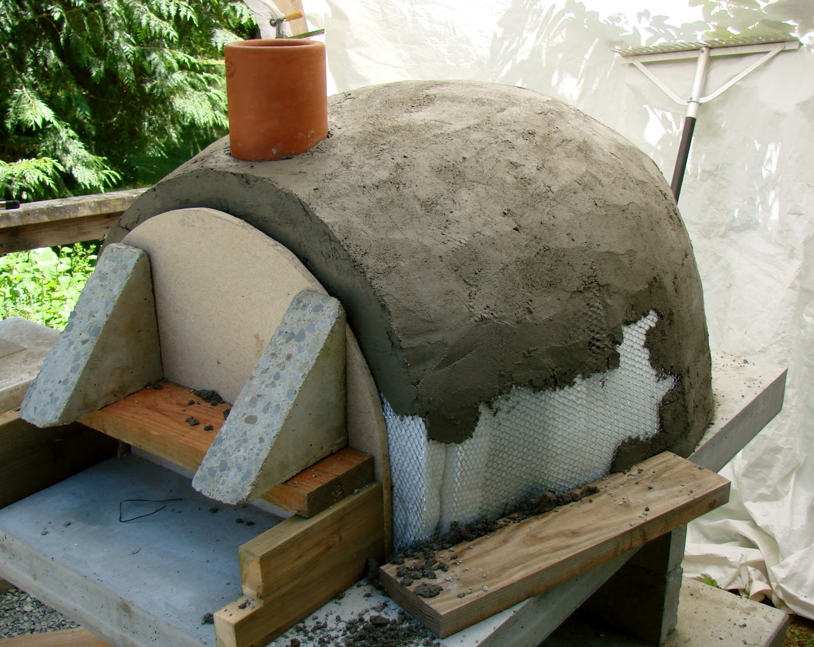 Cam Amp Karen S House On Dale Place Pizza Oven Part Ii