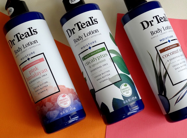 Dr. Teal's Body Lotions