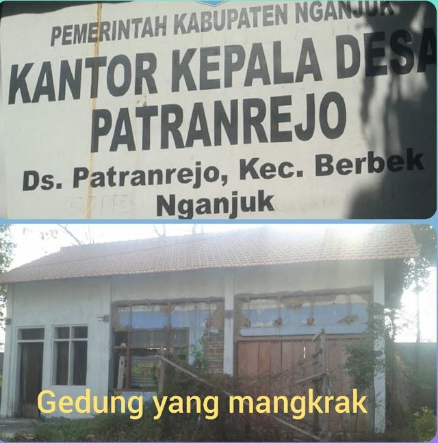 Mangkrak, Akibat Ulah Pemdes Patranrejo Rehab Gedung
