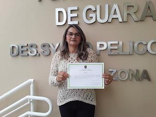 Rosane Emídio foi diplomada vereadora por Guarabira na semana passada e se prepara para nova mição na nCMG representando a família Pimentel