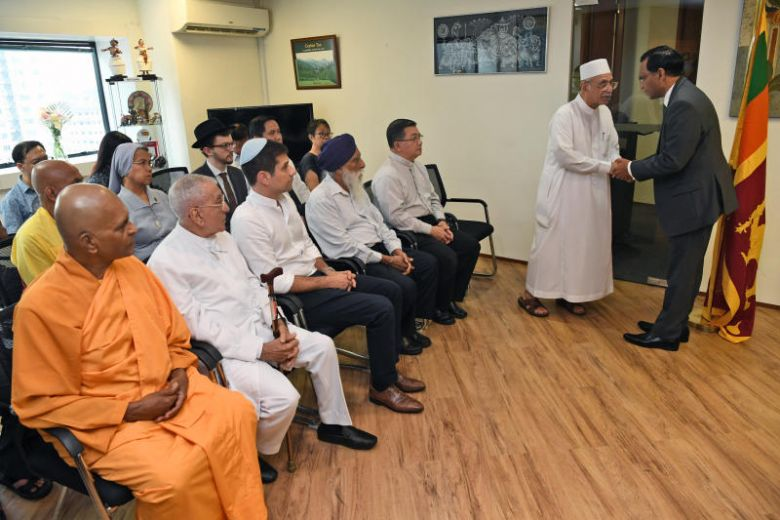 Inter-Religious Organisation pays respects to victims of Sri Lanka bombings