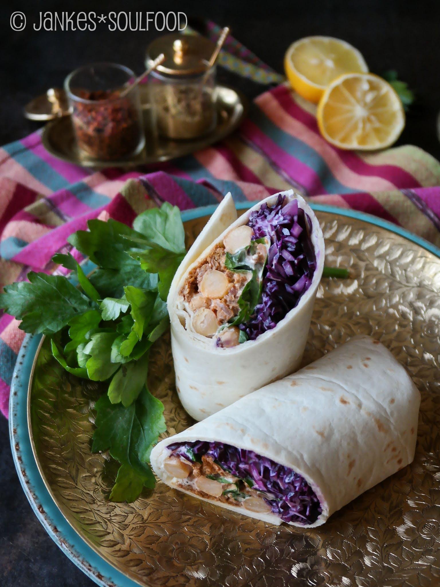 Orientalischer Wrap von Jankes Soulfood