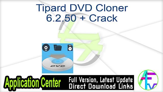 Tipard DVD Cloner 6.2.50 + Crack