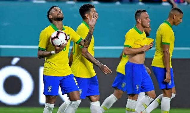 تشكيل البرازيل ضد الأرجنتين عبر سوفت سلاش