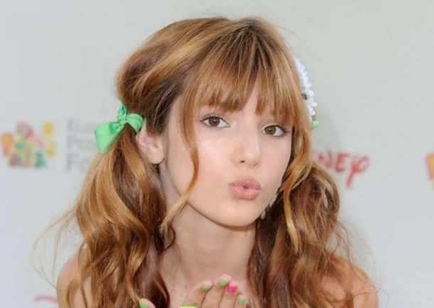 Bella Thorne Looking Cute in Young Modeling Picture