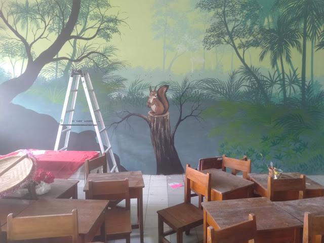 Lukis Dinding/Mural Sekolah Dasar - Gerakan Sekolah Menyenangkan (GSM) 3