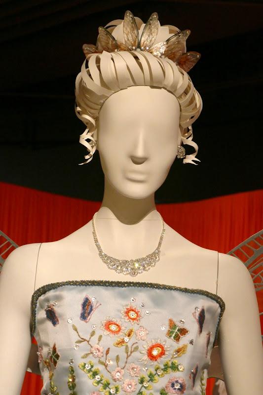 Unfortunate Events Beatrice Baudelaire opera costume detail
