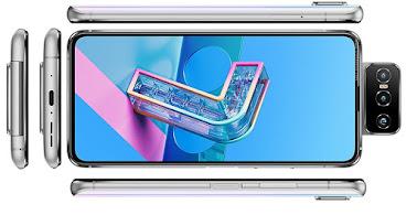 اسوس Asus Zenfone 7 Pro ZS671KS الإصدارات: ZS671KS, ASUS_I002DD
