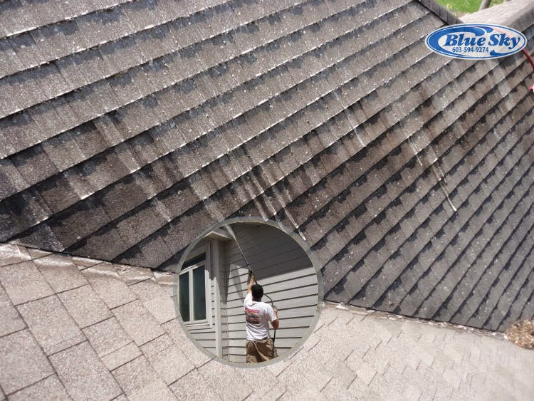 Blue Sky Roof Cleaning Service in New England