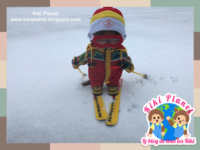 kiki monchhichi ski tenue collection