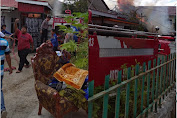 Diduga Sembarangan Buang Puntung Rokok, Satu Unit Rumah Di Kota Sungai Penuh Habis Dilalap Si Jago Merah