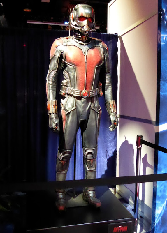 Ant-Man movie costume D23 Expo exhibit