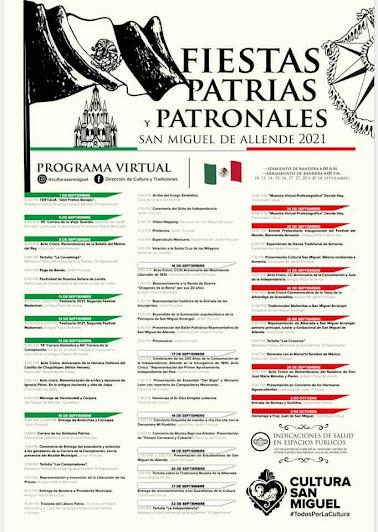 fiestas patrias san miguel de allende 2021
