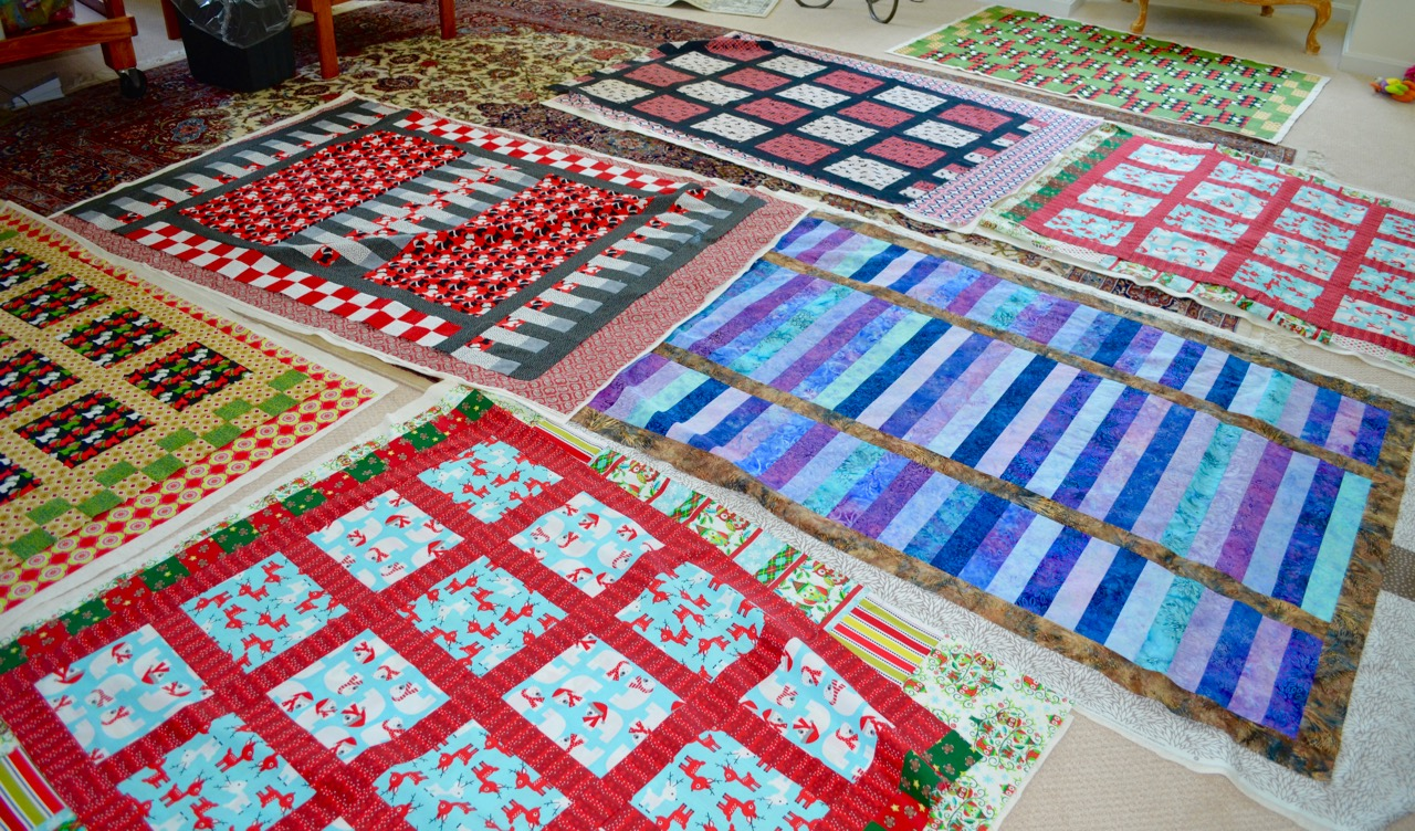 Westie Julep: Putting Together The Quilt Tops & Backs : putting a quilt together - Adamdwight.com