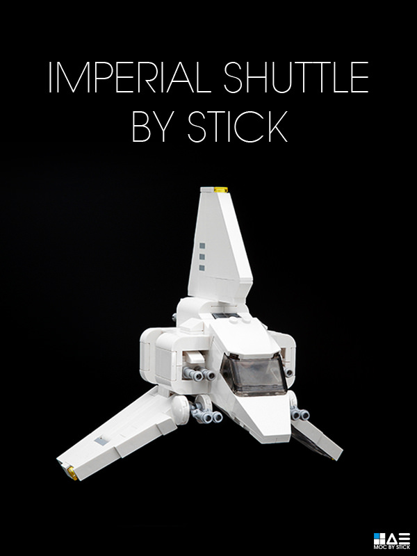 Super Punch Chibi Lego Imperial Shuttle With Directions