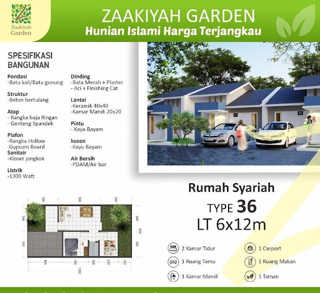 Zaakiyah Garden , Property Syariah, Sabran Property Syariah