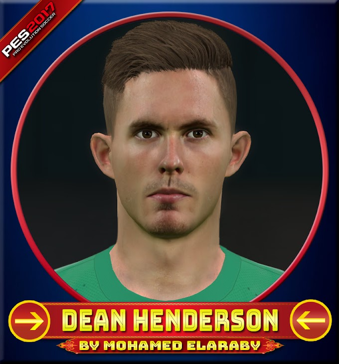 Dean Henderson Face Sheffield United Player - PES 2017