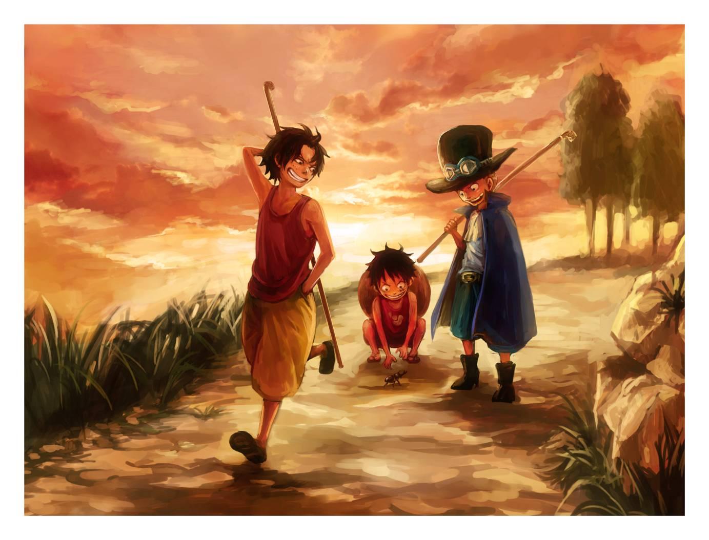 DP BBM Gambar Kata Bijak Anime One Piece Terbaru 2016