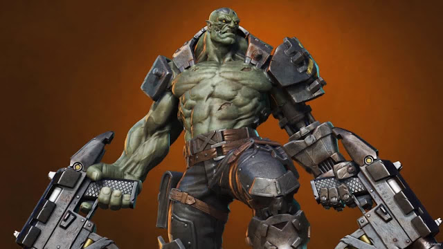 Orc Cyborg Character Creation in Zbrush