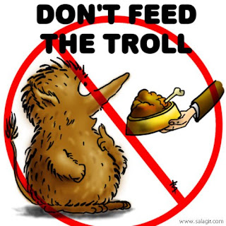 Don't feed trolls, it's not worth it
