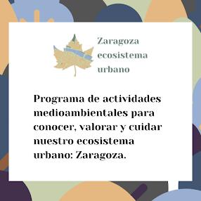Proyecto Zaragoza Ecosistema Urbano