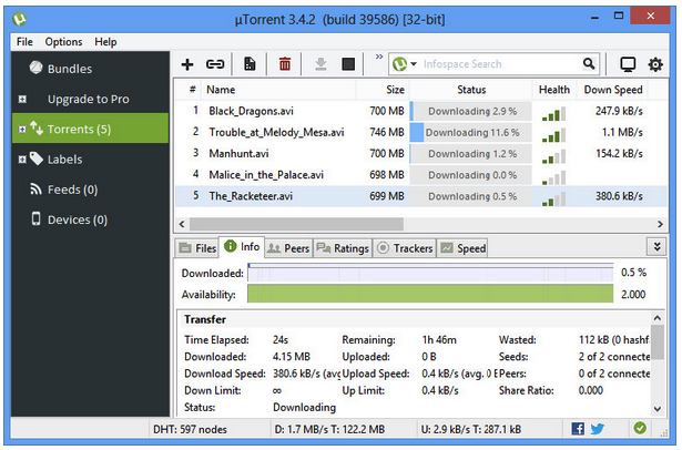 bittorrent download filehippo
