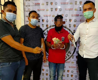Viral di Medsos, Polres Palabuhan Belawan Tangkap Pelaku Pungli di Gabion