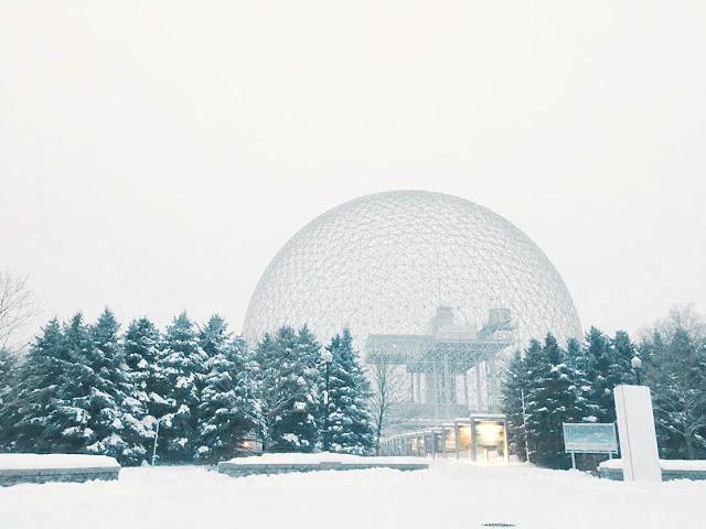 Biosphère in Montréal, Canada
