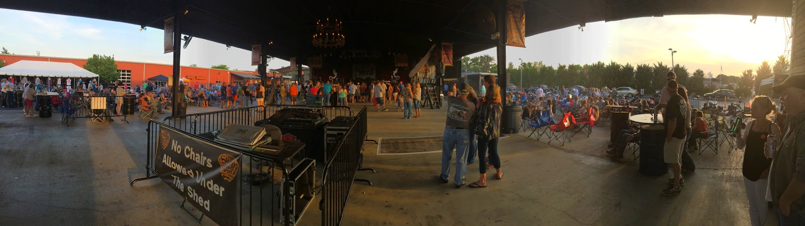 venue review: the shed in maryville, tn