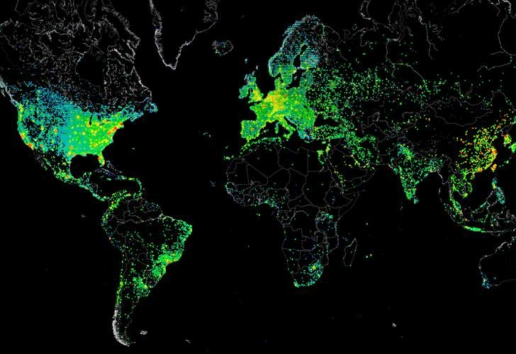 Treasure Map — Five Eyes Surveillance Program to Map the Entire Internet