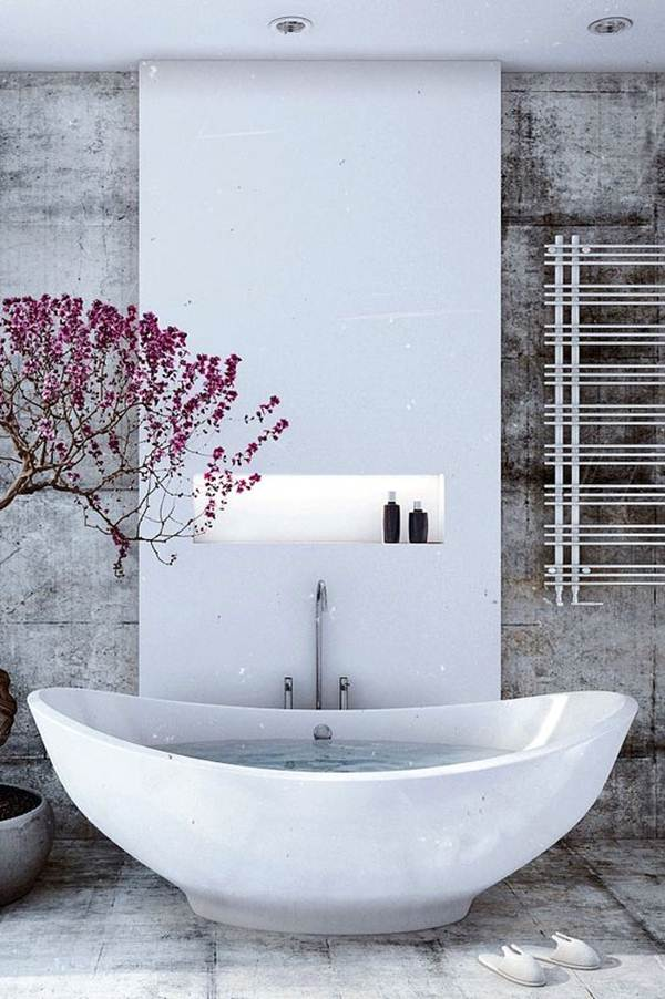 Keys For Decorating a Zen Style Bathroom 1