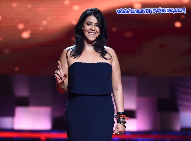 Ekta Kapoor as the Producer of show Qayamat Ki Raat