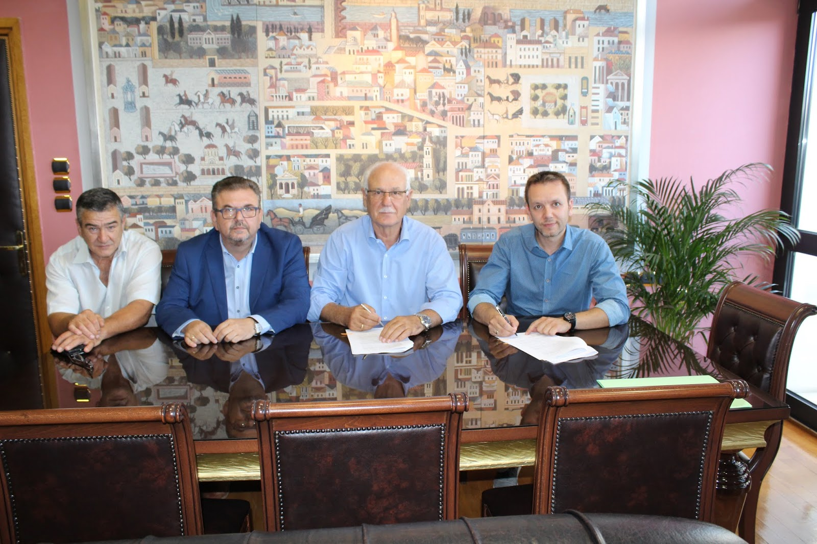 Νέο Επιχειρησιακό Σχέδιο για την Πολιτική Προστασία του Δήμου Λαρισαίων