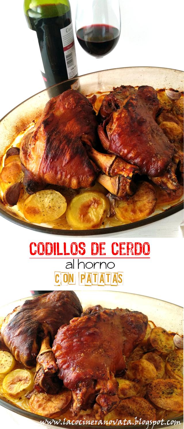 codillos De Cerdo Al Horno Con Patatas