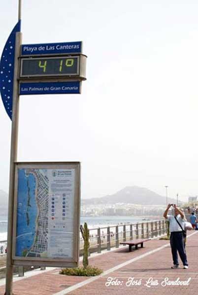La primera ola de calor que afectará comenzando agosto a la Península no afectará a Canarias / Foto: José Luis Sandoval