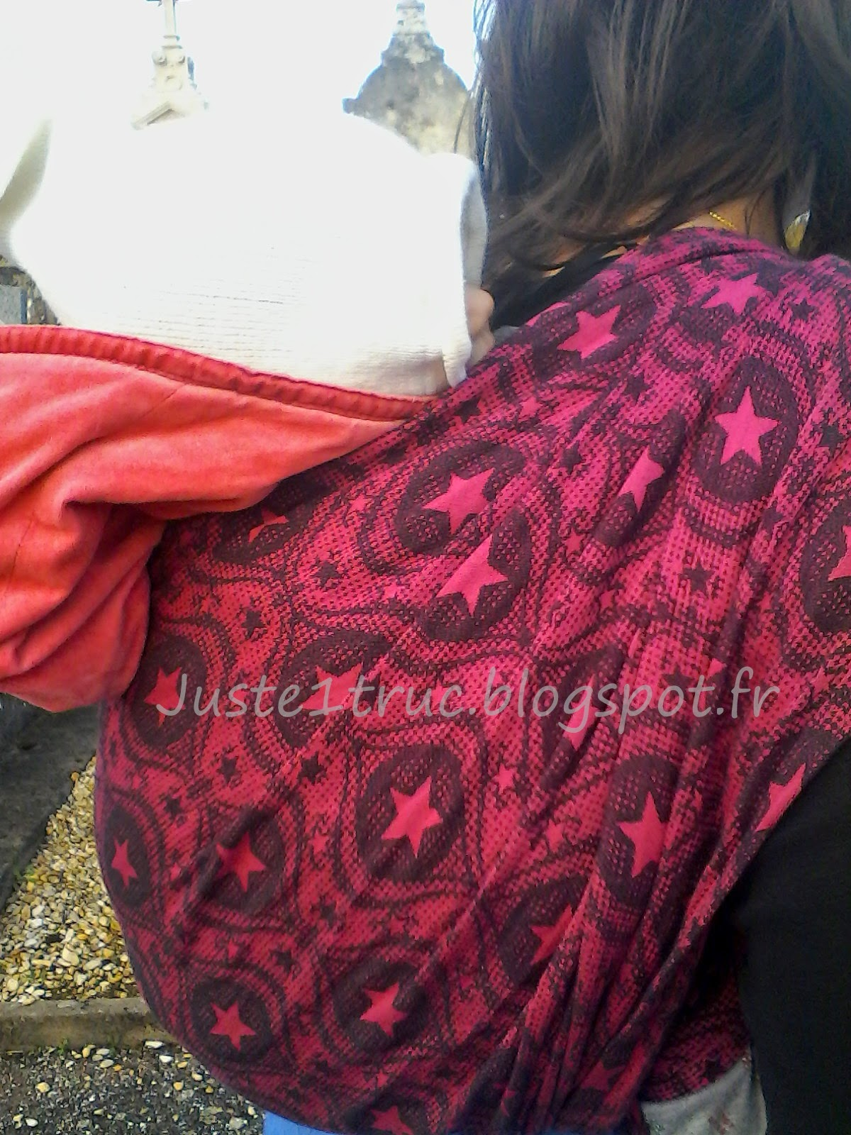 review portage test écharpe pollora naledi rosie babywearing wrap jacquard