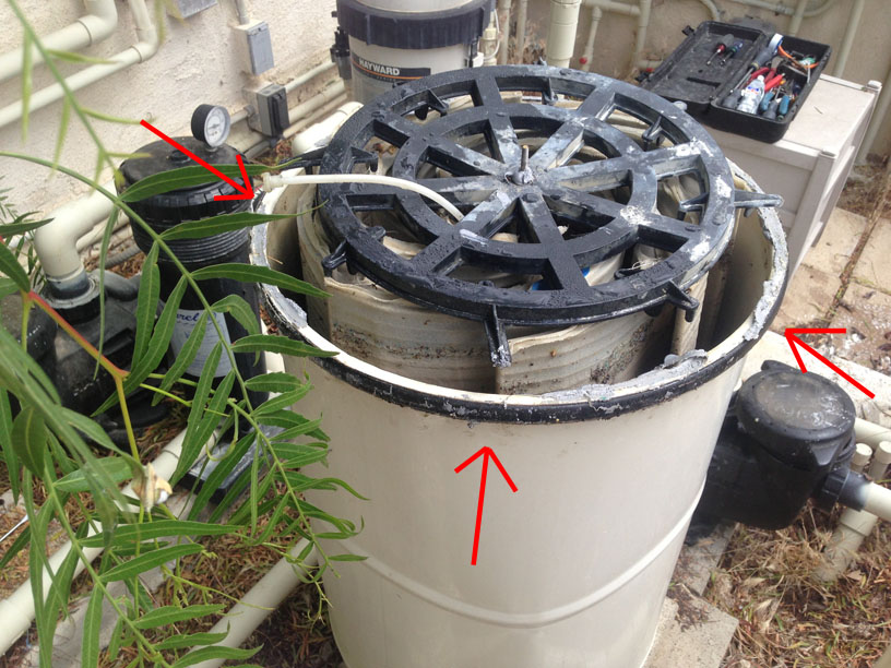 Wine Country Pools And Supplies How To Reattach The Lid