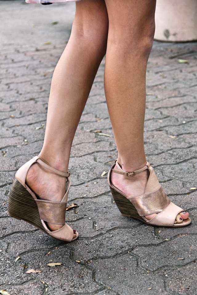 bc footwear glow wedges hit the ground stunning modcloth rose gold vegan shoes heels