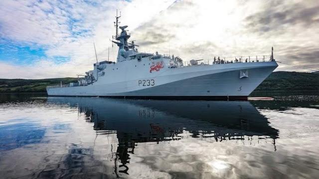 Inggris Akan Siagakan 2 Kapal Perang Selama 5 Tahun Di Pasifik