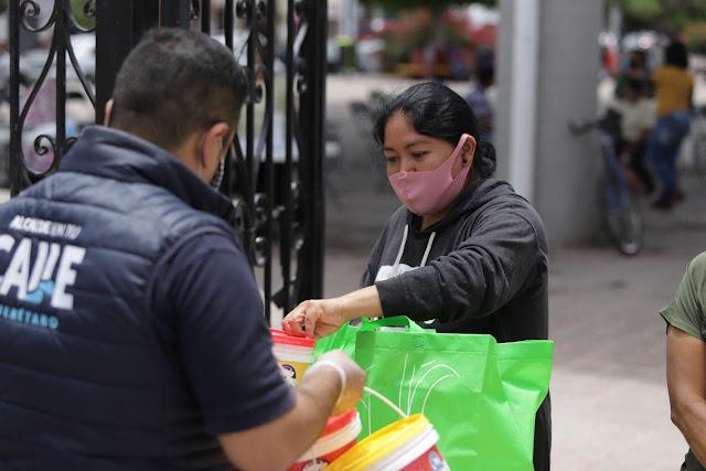 Se han entregado 29 mil 750 porciones de alimentos en los Comedores del Municipio de Querétaro