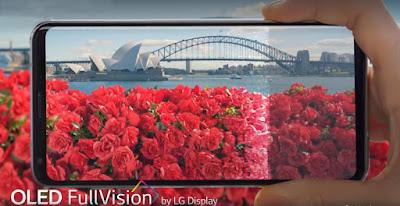 LG V30 OLED Full Vision