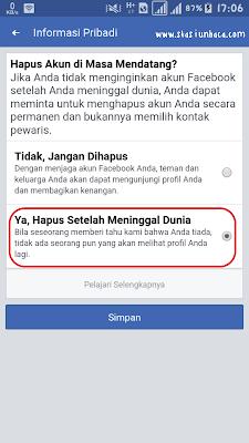 Cara Menghapus Akun Facebook Setelah Meninggal