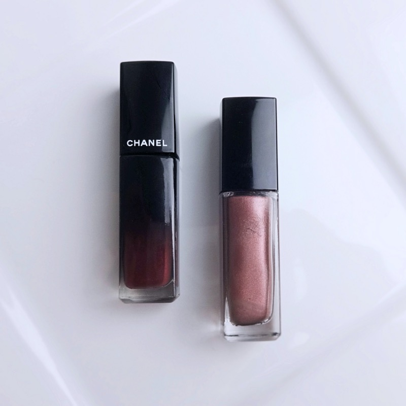 Chanel Rouge Allure Laque Dark Blossom swatch