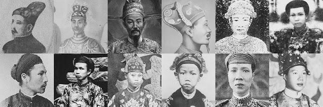13 vị vua triều đại nhà Nguyễn